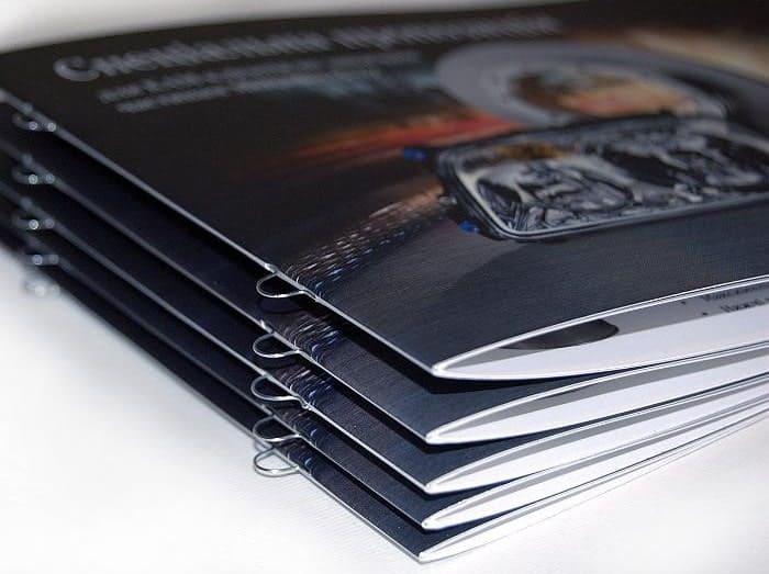Скрепление брошюры на евроскобу