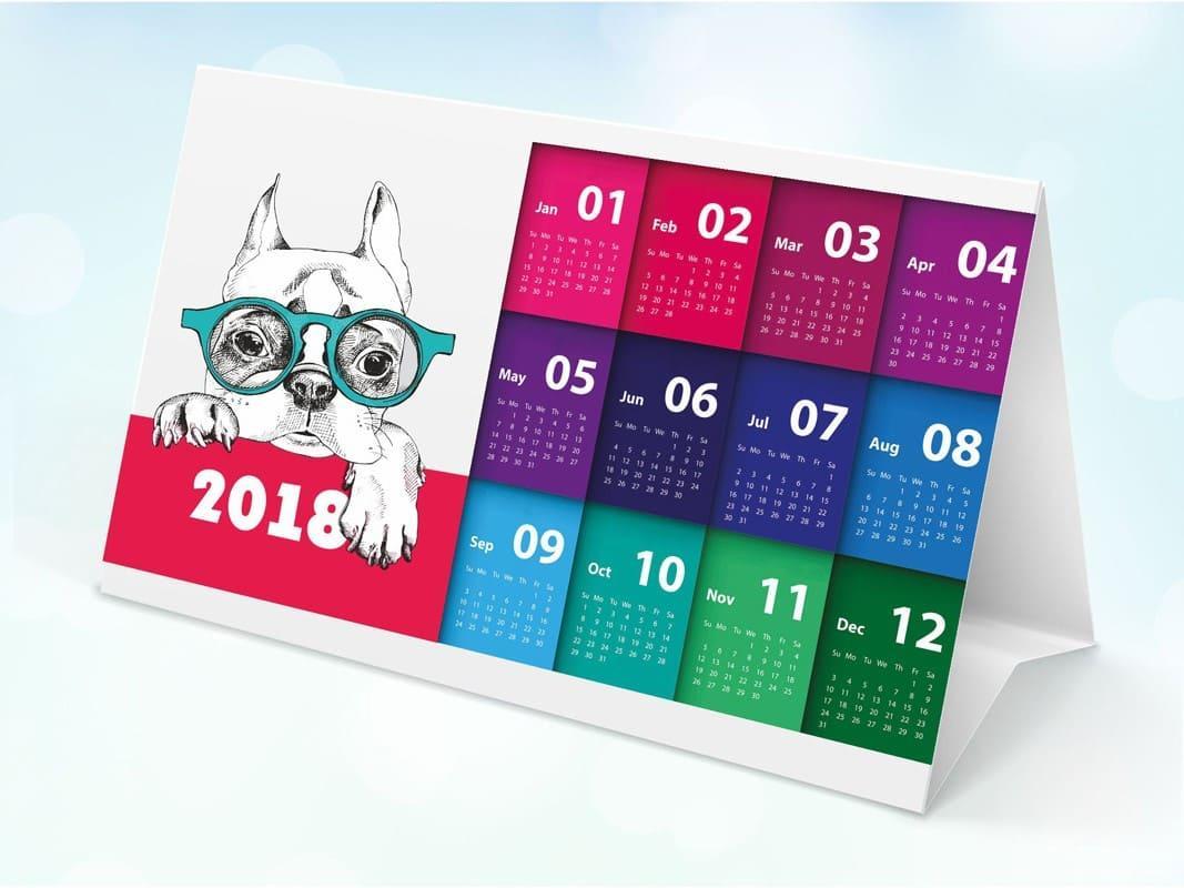 Календарь домик обычный, 100 х 210 мм