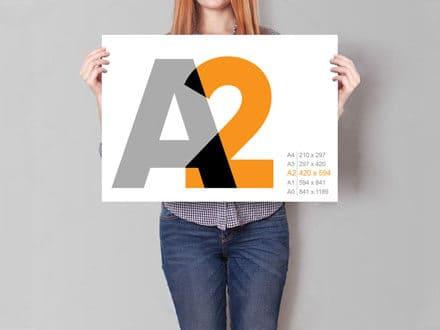 Плакат А2 420 х 594 мм